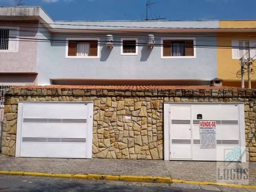 Imagem 1 de 30 de Lindo Sobrado Bairro Baeta Neves Com 176m²  De Área Construída. - So0117