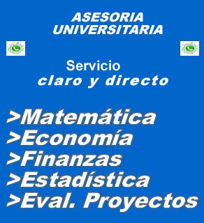 Economia Matematica Finanzas Tesis Proyectos Asesorias Profe