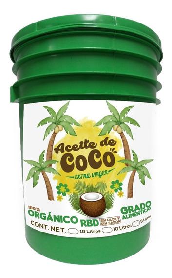 Aceite De Coco Orgánico Grado Alimenticio 19 L Envío Gratis
