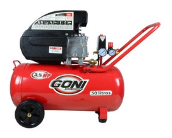 Compresor Goni De 3.5 Hp Con Tanque De 50 Lts. Goni Gon977
