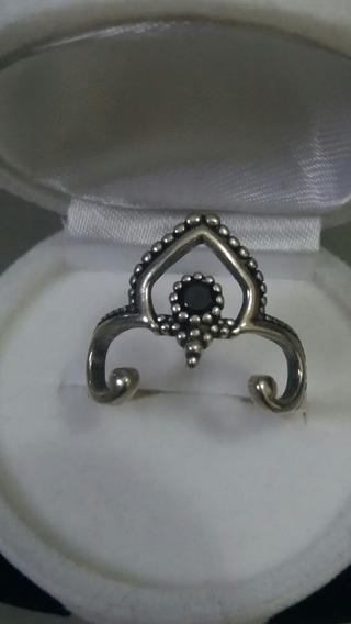 Lindo Anel Feminino Em Prata 925 Com Pedra De Zircônio