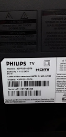 Placa Da Fonte Tv Philips 43pfg5102/78