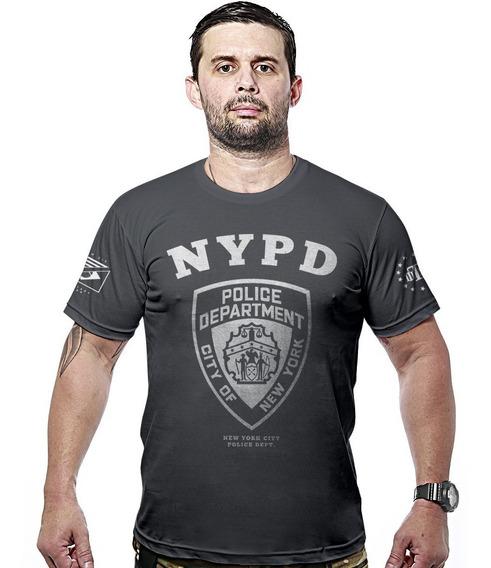 Camisa Militar Hurricane Line Team Nypd Police Department