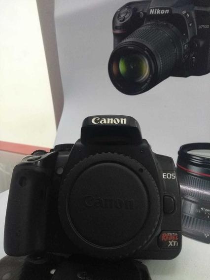 Câmera Canon Xti Corpo