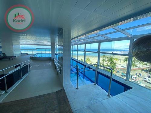 Apartamento Com 3 Dormitórios À Venda, 142 M² Por R$ 1.100.000,00 - Canto Do Forte - Praia Grande/sp - Ap5420