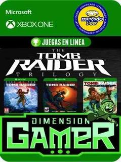 Tomb Raider Trilogy - Xbox One - Modo Local + En Linea