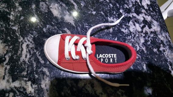 Zapatillas Lacoste Talle 21