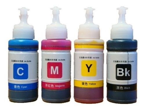 Tintas Epson  L210,l355,l810,l855,l365 Colores Vivos, Filtro