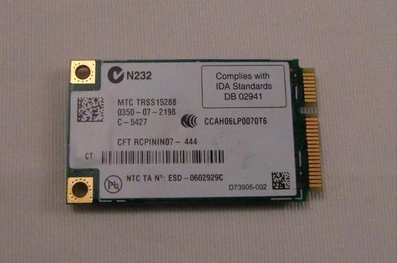 Placa De Red Inalambrica Toshiba A135 441082-001