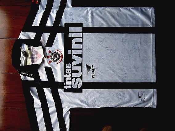 Camiseta Corintians Autografada
