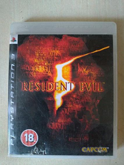 Resident Evil 5 Ps3 Mídia Física Playstation 3 Mais Brinde