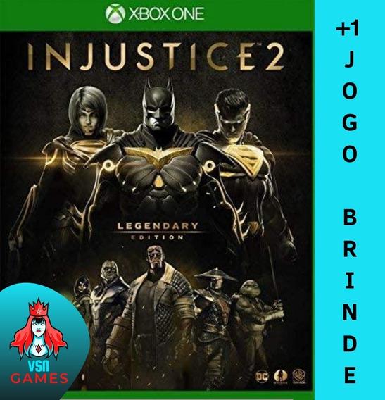 Injustice 2 Edição Lendária + Dlcs - Xbox One M. Digital