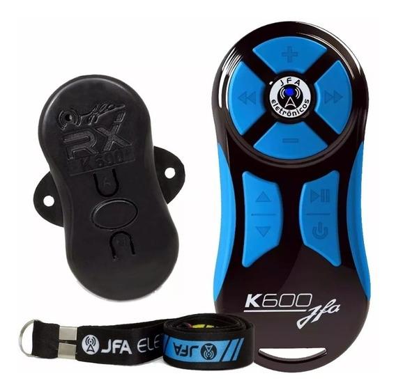 Controle Longa Distancia Jfa K600 Completo Preto Azul Full