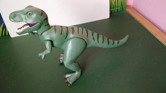 Boneco Figura De Ação Playmobil Dinossauro Tiranossauro Rex