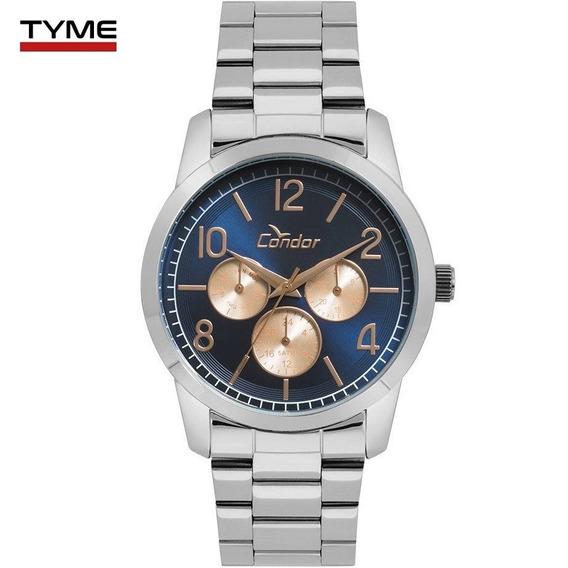 Relógio Condor Feminino Co6p29ij/3a Prateado C/ Nota Fiscal