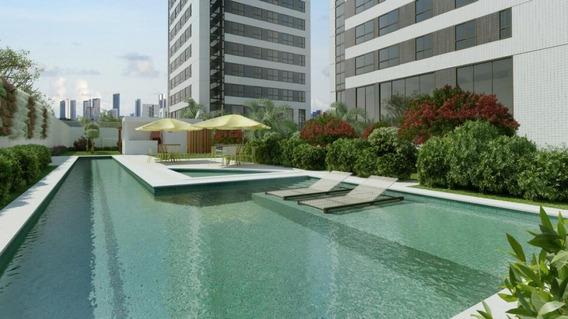 Flat Em Parnamirim, Recife/pe De 34m² 1 Quartos Para Locação R$ 2.600,00/mes - Fl332641