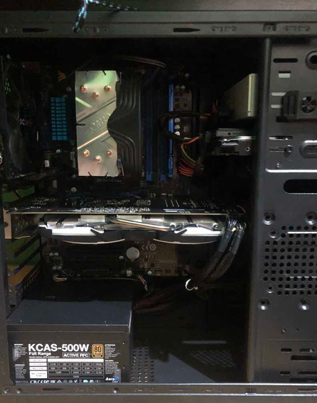 Pc Gamer Completo Core I5, Gtx 1060 6gb, 8gb Hyperx, Hd500