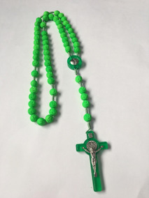 Terço Colorido Medalha De Nossa Senhora Aparecida