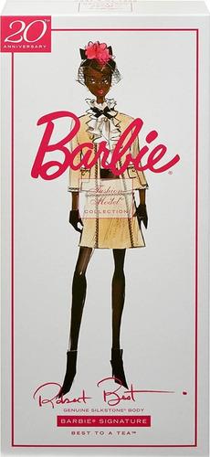 Imagem 1 de 7 de Barbie Fashion Model Collection Best To A Tea Silkstone 2020