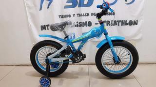 Bicicleta Niño Fat Bike Sbk Rodado 12