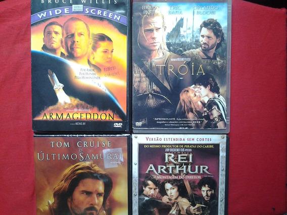Dvd Lote 4 Filmes Epicos Original Leia O Anuncio/
