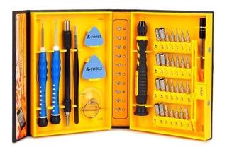 Kit Ferramentas Para Celular 38 Peças - K-tools Set Nº 1252