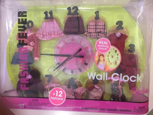 Imagem 1 de 6 de Relógio Barbie Fashion Fever 2005 Funciona