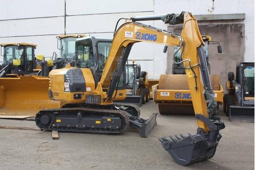 Importação Mini Escavadeira Xcmg Xe55da