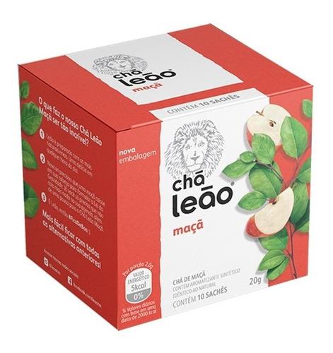 Chá Leão Premium - Maçã 10 Sachês