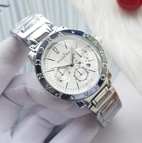 Relógio Feminino Pandora Importado Luxo