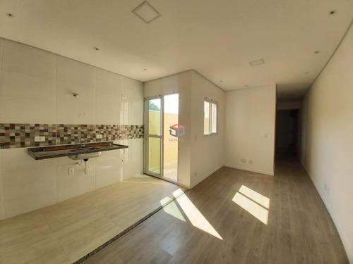 Apartamento À Venda, 2 Quartos, 1 Suíte, 1 Vaga, Cecília Maria - Santo André/sp - 97438