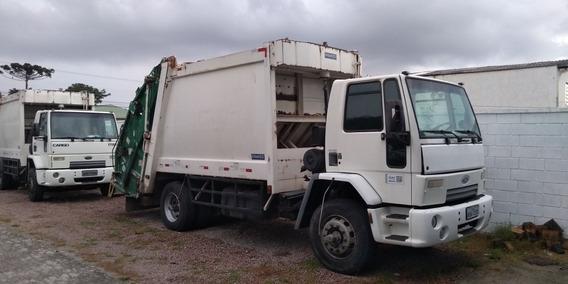 2 Ford Cargo 1722e Compactador De Lixo 15 M³ Ano 09/10