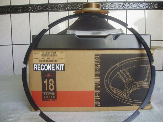 Kit Reparo Auto Falante Eighteen Sound 15w700 Orig.itália