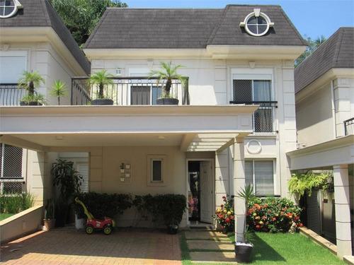 Casa Em Condomínio Com 4 Dormitórios Na Chacara Monte Alegre, Santo Amaro. - 11916