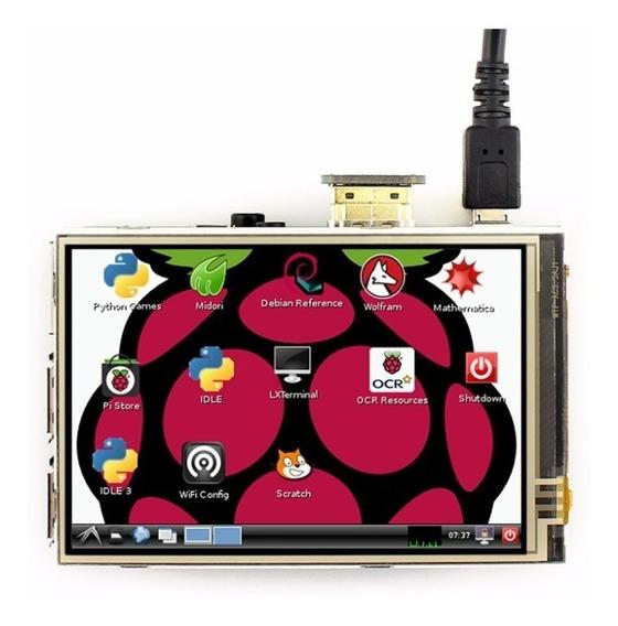 Tela Lcd Waveshare Hdmi 3.5 Touch 1920x1080 Raspberry*110303