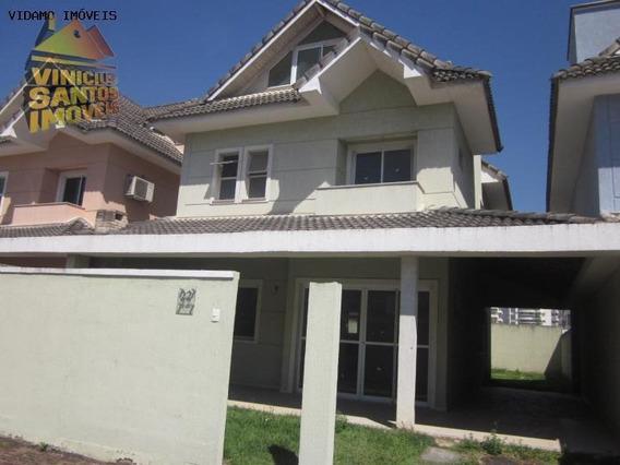Casa Em Condomínio Para Venda Em Rio De Janeiro, Recreio Dos Bandeirantes, 4 Dormitórios, 3 Suítes, 6 Banheiros, 3 Vagas - 6145