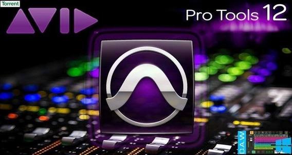 Pro Tools 12 Hd + Mega Plugins Aax + Waves V9r30 + Kontakt 5