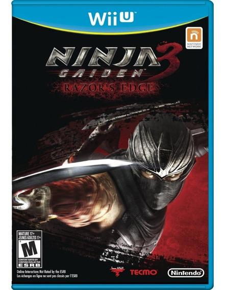 Ninja Gaiden 3 - Razors Edge - Wii U Mídia Física Lacrada