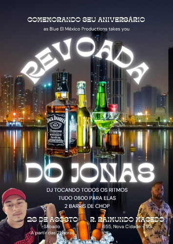 Imagem 1 de 1 de Revoada Do Jonas