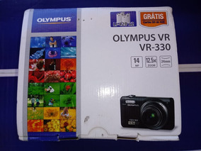 Câmera Digital Olympus Vr - 330 Vermelho - Impecável Linda !