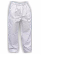 8 Calças Profissionais Branca Brim Pesado (3m,3g,2gg)
