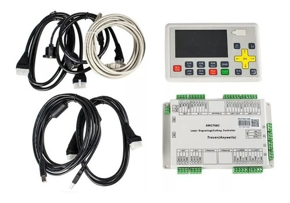 Placa Controladora Awc708c Lite, Controladora Dsp. Laser