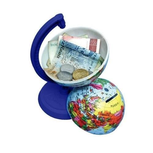 Globo Terrestre Libreria 10cm Millenium Azul Royal 310054