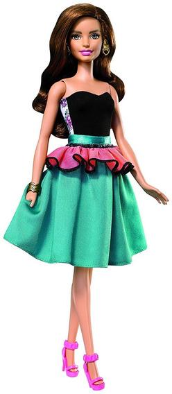 Boneca Barbie Fashion Mix N Match - Azul