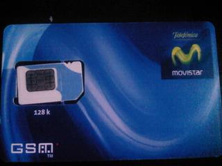 Tarjeta Chip De Movistar 3g 4g Con Plan