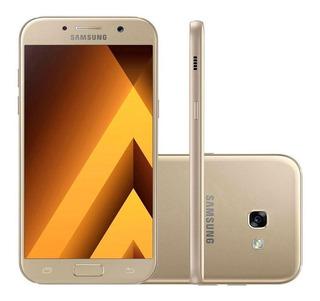 Galaxy A5 2017 Samsung Dourado Mt Bom Usado Seminovo