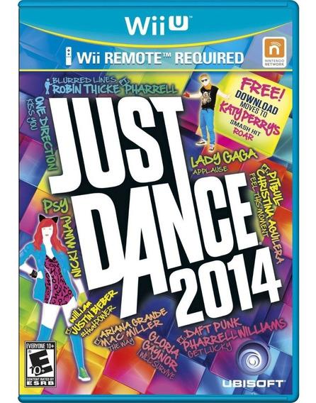 Jogo Novo Midia Fisica Just Dance 2014 Para Nintendo Wii U