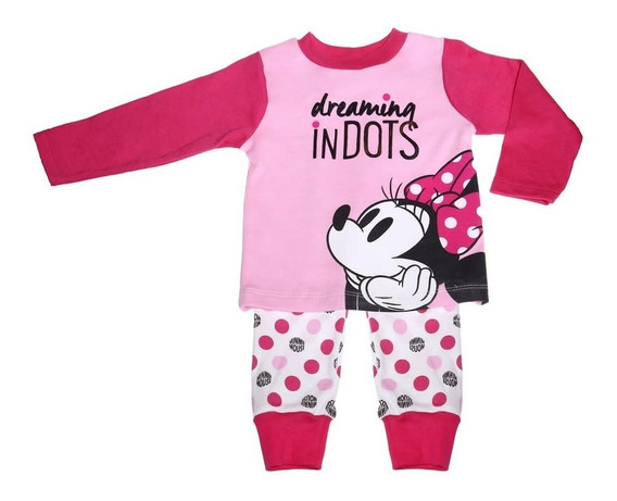 Pijama Bb Ideal Disney Pantalon Playera Estampado Minnie
