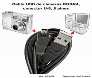 Zcam08k Cargue Y Sincronice Al Pc Camaras Kodax Computoys