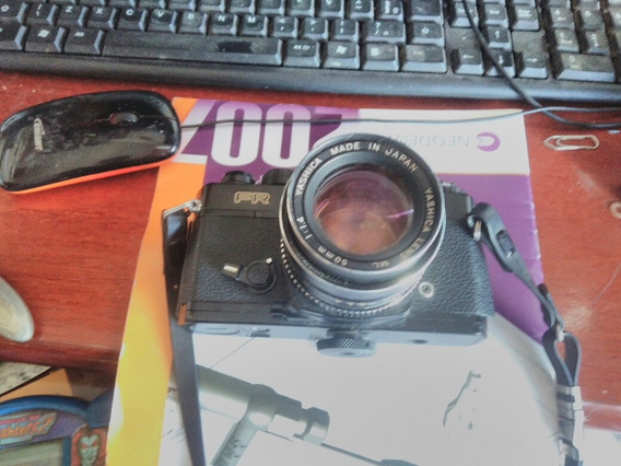 Maquina Fotografica Yashica Fr Japan Raridade